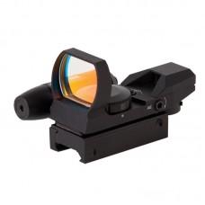 Коллиматорный прицел Sightmark панорамный с лазерным целеуказателем, 4 марки