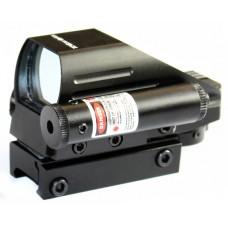 Коллиматорный прицел Vector Optics Tomcat 1x22x33 с красным ЛЦУ